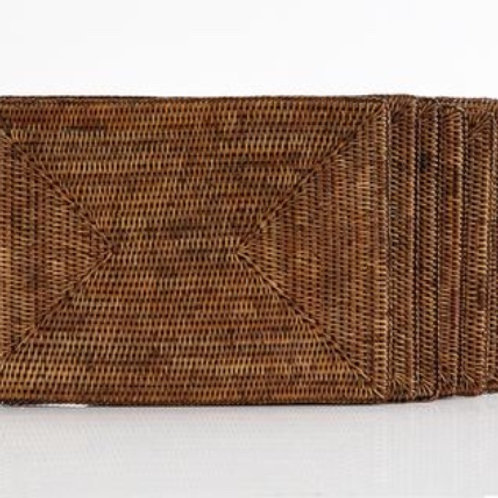 Rattan Placemats Rectangular