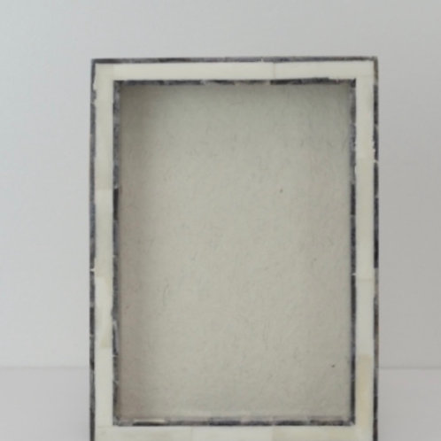 White & Grey 3D Shadow Frame