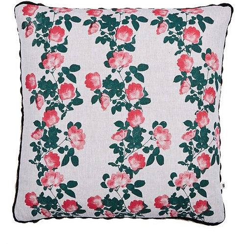 Climbing Rose Cushion - Bonnie &Neil