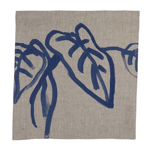 Bonnie & Neil Napkins Inky Leaf Blue (set of 6)