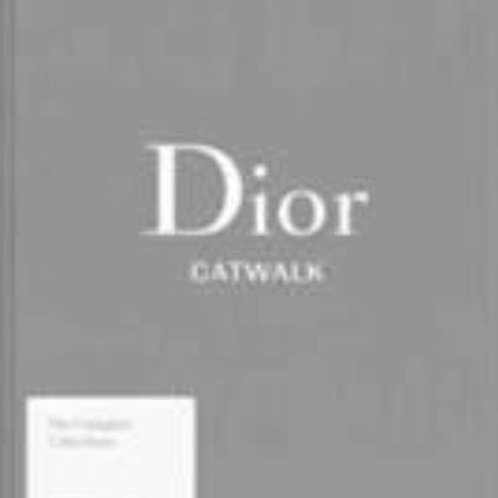 Dior Catwalk Book Linen Cover