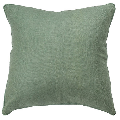Essential Lichen Linen Cushion - Coca Mojo