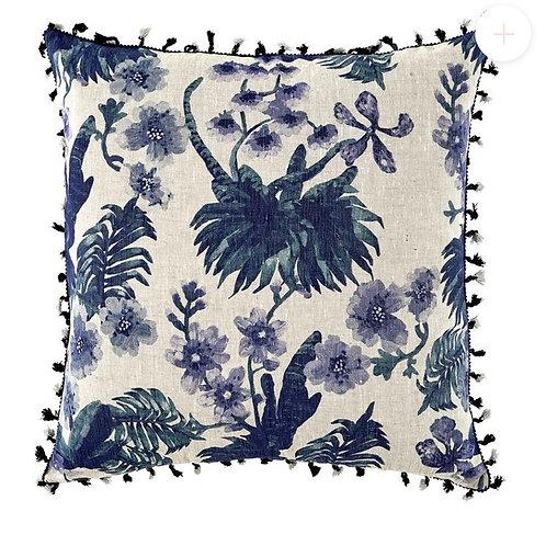 Orchid Blue Cushion - Bonnie & Neil