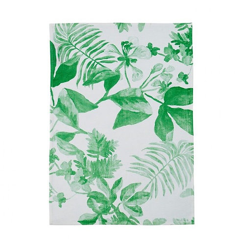 Bonnie & Neil Tea Towel Palms Light Green