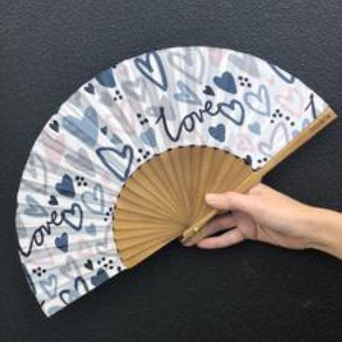 Love Note Silk Fan