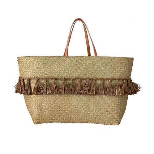 Penjy Chocolate Tassel Basket