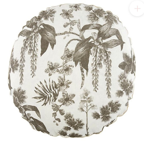 Dancing Lady Orchid Round Cushion - Bonnie & Neil