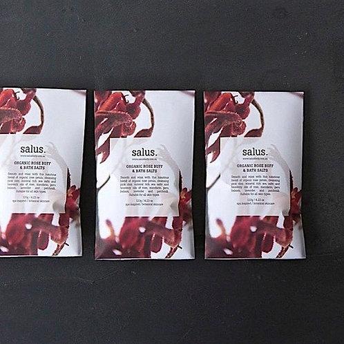 Organic Rose Buff & Bath Salts