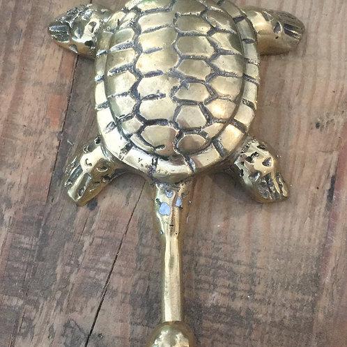 Brass Turtle Hook