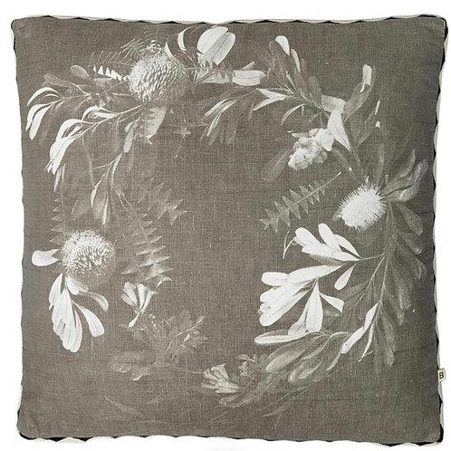 Banksia Wreath  Cushion -  Bonnie & Neil