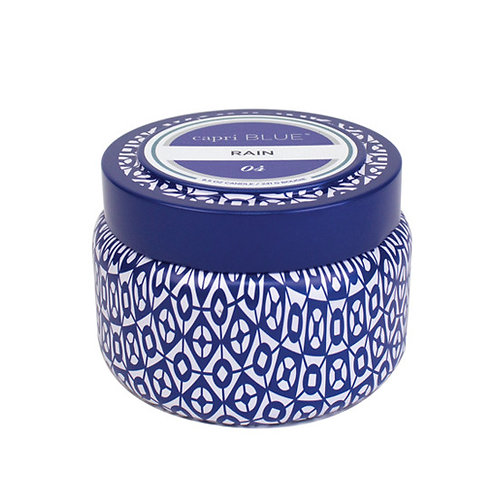 Capri Blue travel tin - Rain