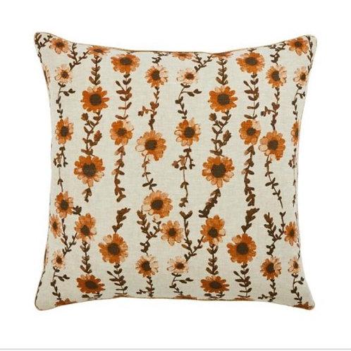Sunflower Seagrass Cushion  - Bonnie & Nel