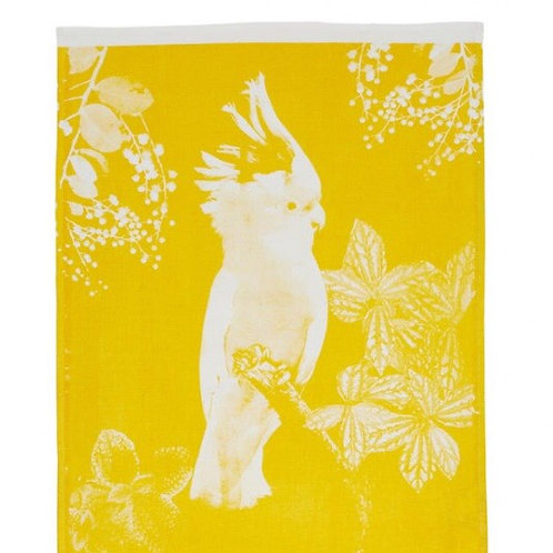 Bonnie & Neil Tea Towel Big Major Yellow