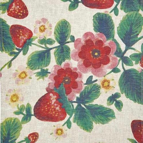 Bonnie & Neil Strawberry Tea Towel