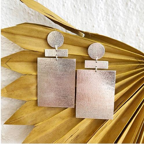 Zee Earrings Silver
