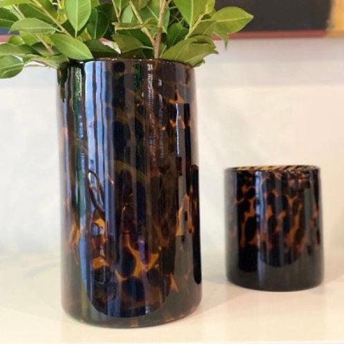 Tortoiseshell Vase -Lg
