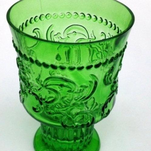 Emerald Water/Wine  Glass