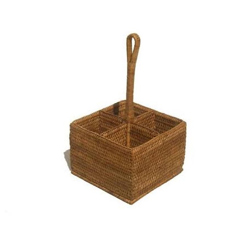 Cutlery Holder Rattan