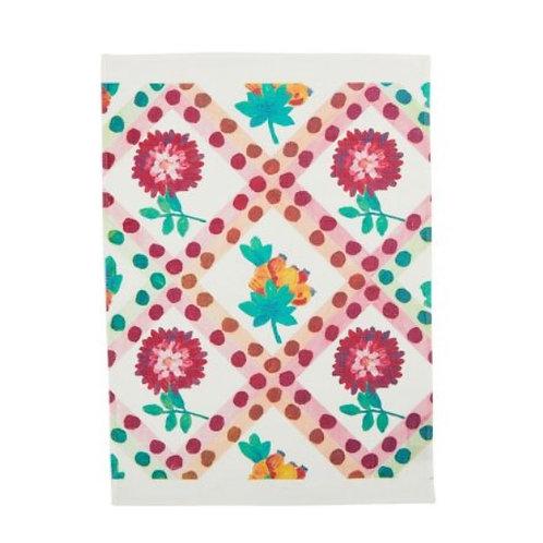 Dahlia Multi Tea Towel - Bonnie & Neil
