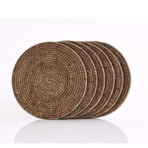 Rattan Round Placemats