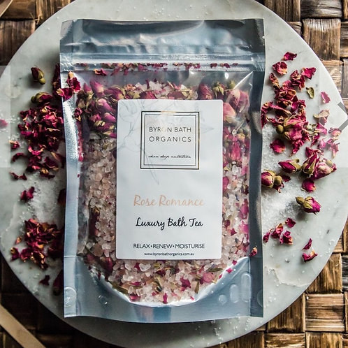 Rose Romance Bath Tea