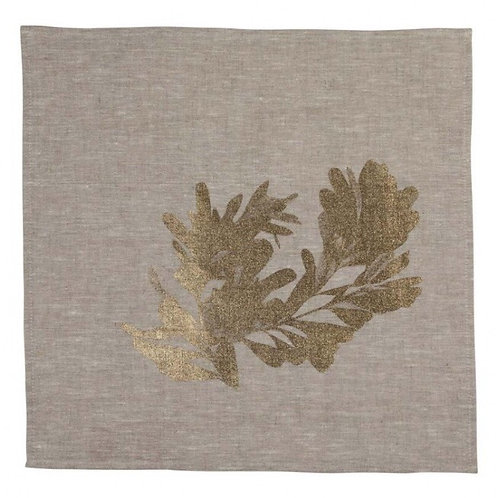 Bonnie & Neil Napkins Banksia Gold (set of 6)