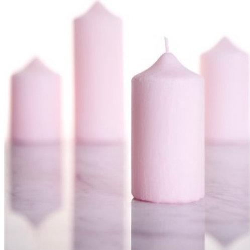 Rose Petal Pillar Candle
