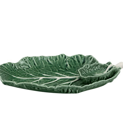 Cabbage Leaf with Bowl