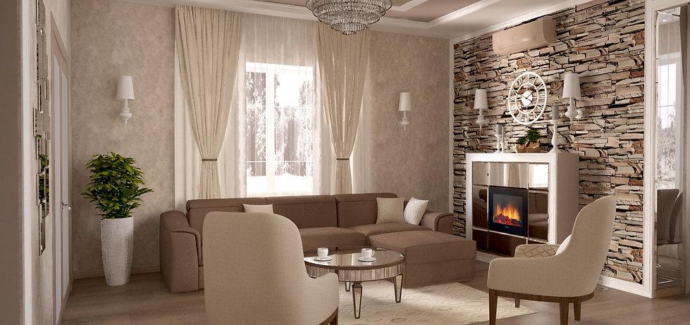 дизайн интерьера в Муроме ,Дизайн интерьера в Выксе Дизайн интерьера во Владимире, ар-деко
