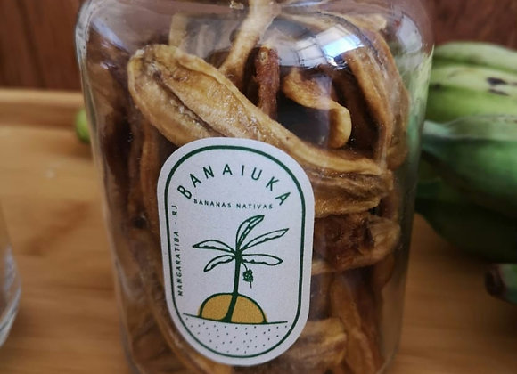 Banana Passa Fatiada  (Pote 200g)