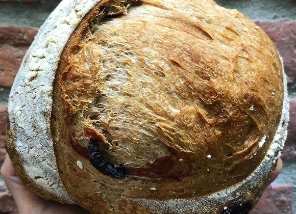 Pão de fermentação natural (Unidades 400 a 500g)