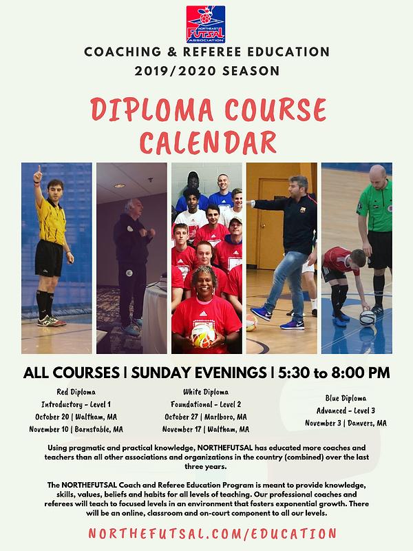 Coaching & Referee Education Flyer 2020