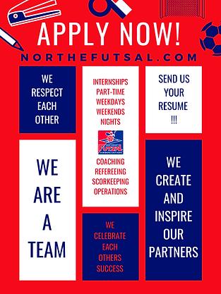 Job Posting - Northeast Futsal Associati