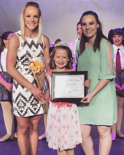 Dancer of the Year, Reagan James!