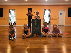 1st Day of Dance Class