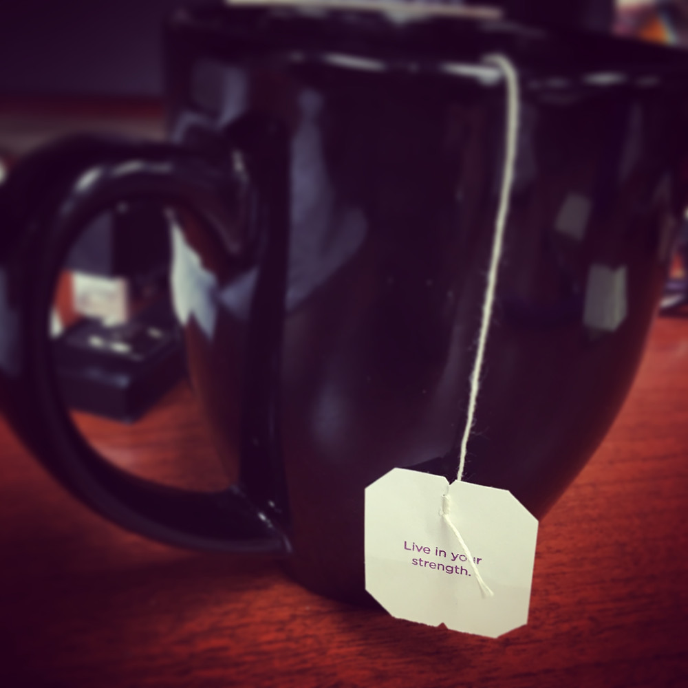 My Yogi Tea inspiration.
