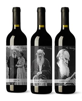 Kit Enos Tolstoy Reserva 2012 (Amor, Felicidade, Liberdade)