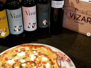 Pizza&Wine Tasting com Vinhos da Bodega Vizar