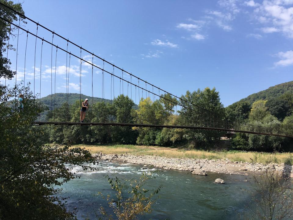 Хаджох река Белая