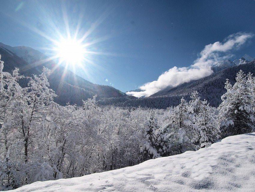 Зима в Адыгее