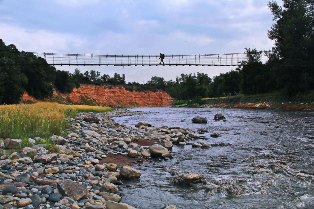 горная река Белая