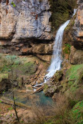 университетский водопад мезмай