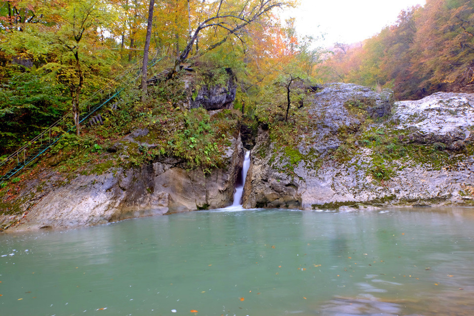 усть-сахрайские водопады хадхох