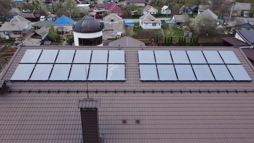 Солнечный коллектор в Ростове