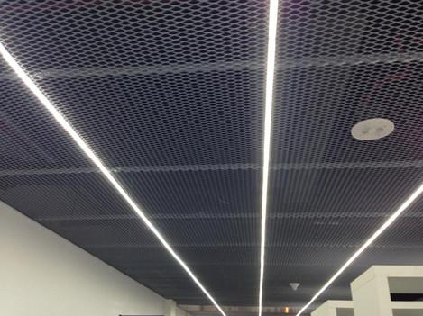 Сетчатые потолки ПВС