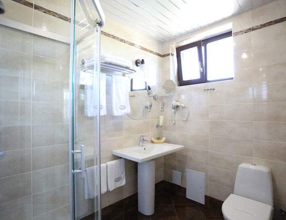 ванная в каждой комнате