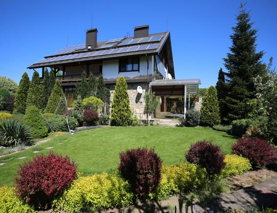 Сад рядом с домом