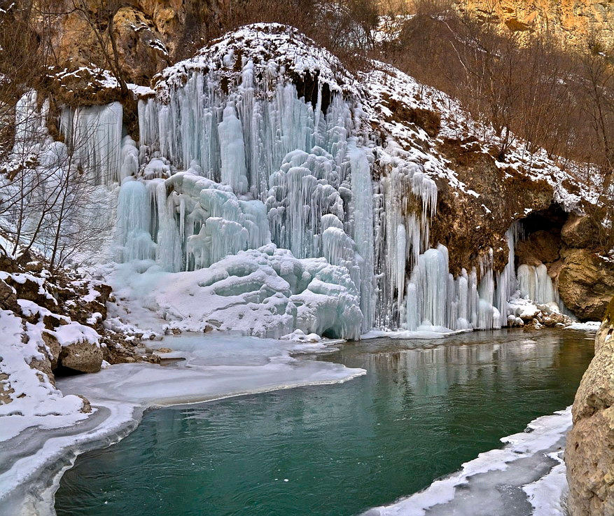 Руфабго зимой