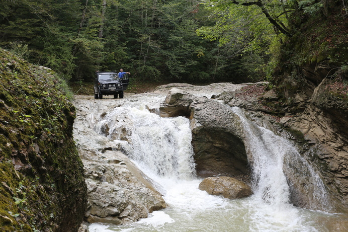 усть-сахрайские водопады