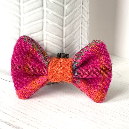 Cerise Orange Bow